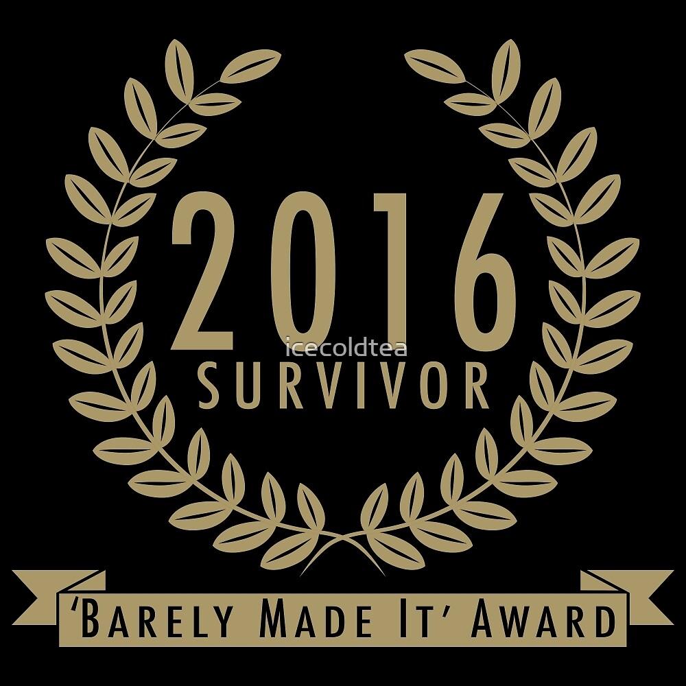 Year 2016 Survivor by icecoldtea