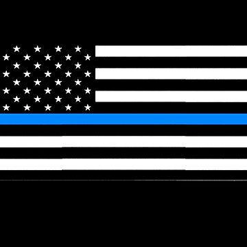 blue lives matter back the blue by earlstevens