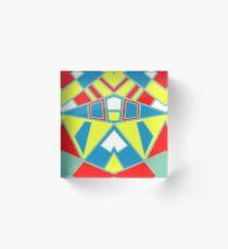 Abstract #571 Acrylic Block