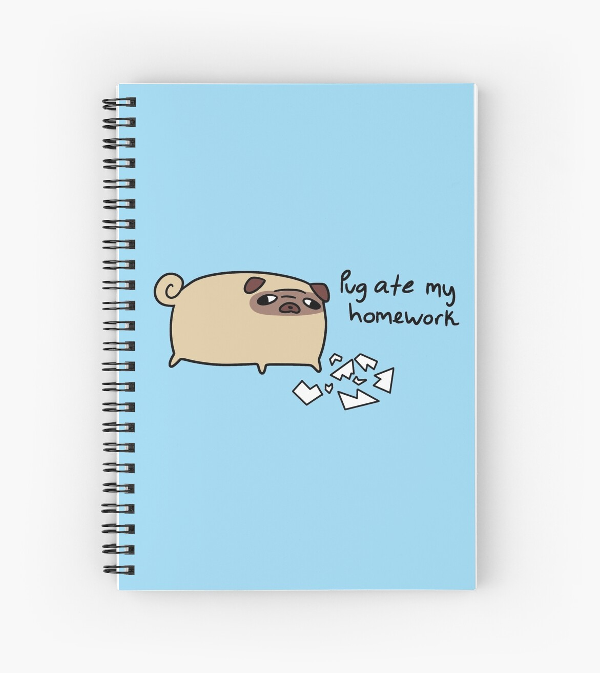 Pug Ate My Homework by SaradaBoru
