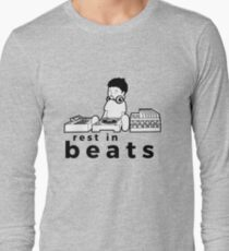 """Nujabes """"rest in beats"""" Long Sleeve T-Shirt"""
