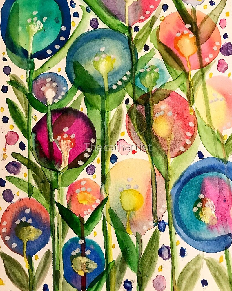 Whimsy bubble garden by Thecathartist