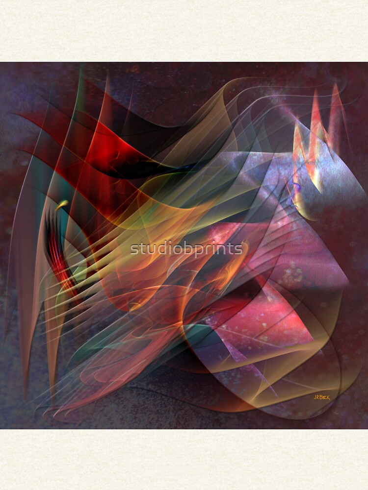 Free Falling, Part 2 (Square Version) - By John Robert Beck by studiobprints