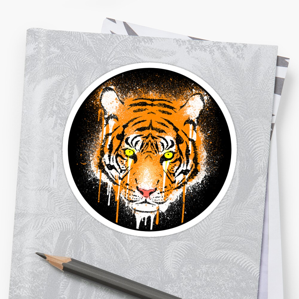 Graffiti Tiger by R-evolution GFX