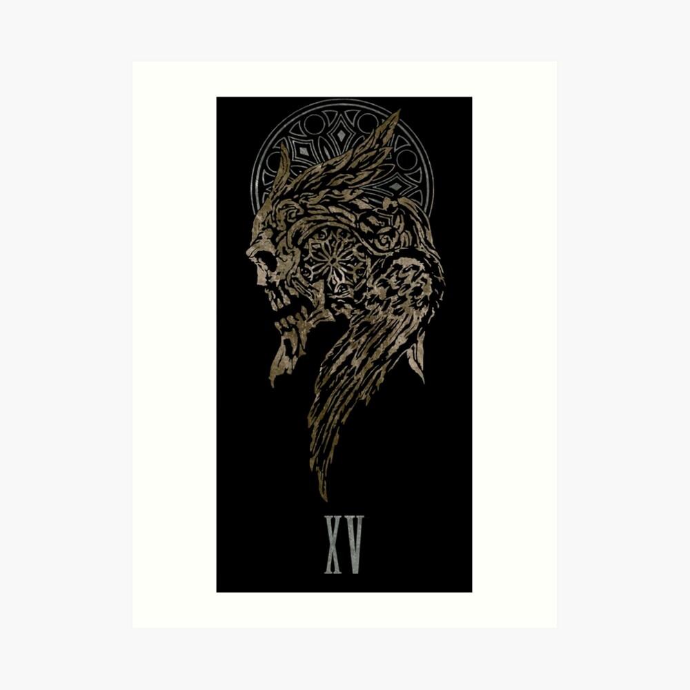 The Lucian Crest  Art Print
