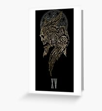 The Lucian Crest  Greeting Card