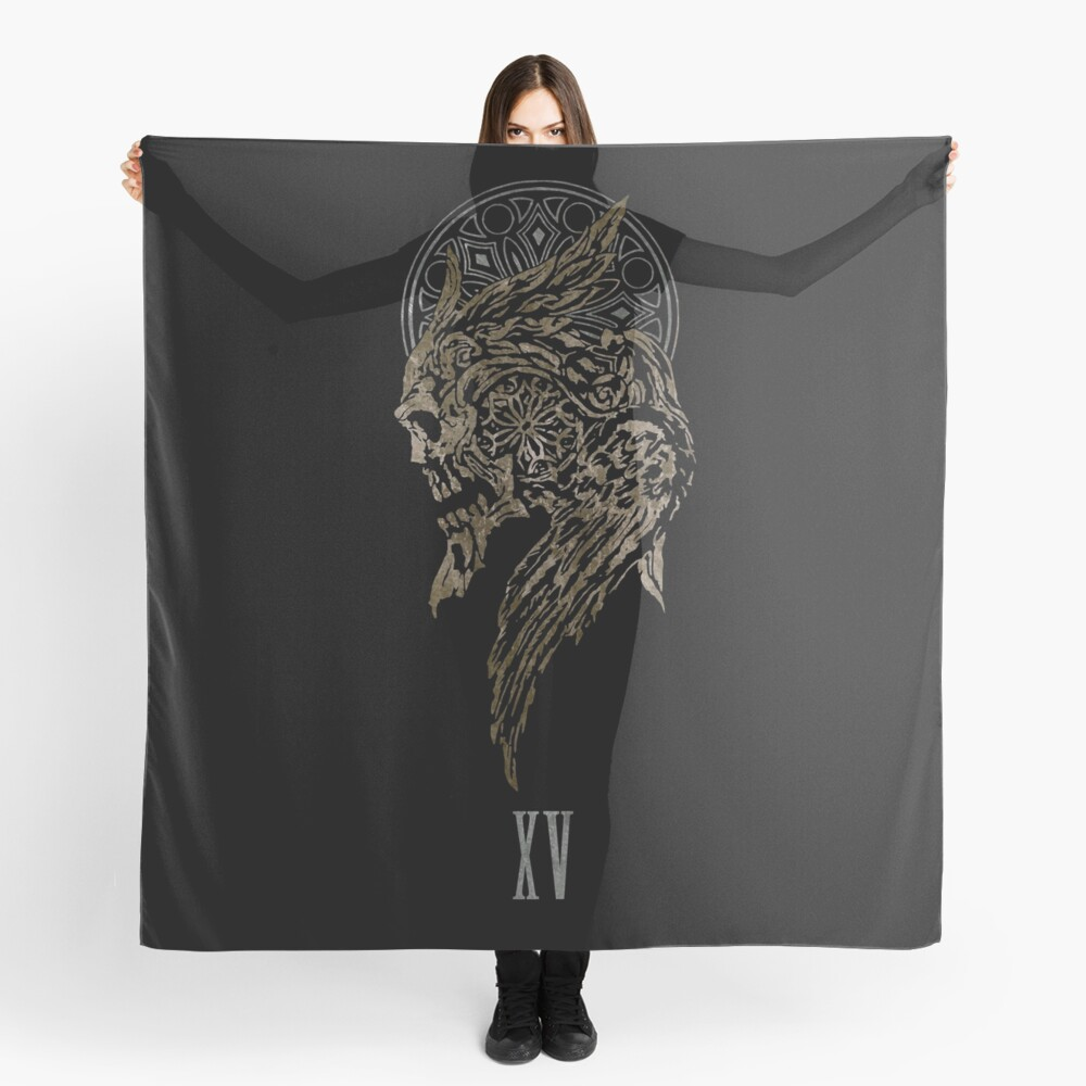 The Lucian Crest  Scarf