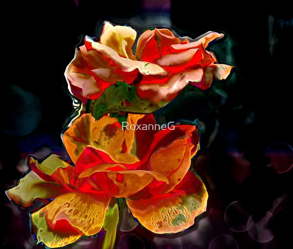 Romantic Flowers by RoxanneG