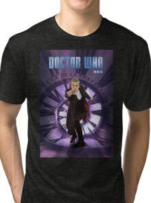 Crouching Capaldi Tri-blend T-Shirt