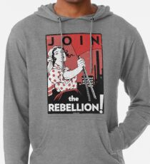 Join the Rebellion! (Vector Recreation) Lightweight Hoodie