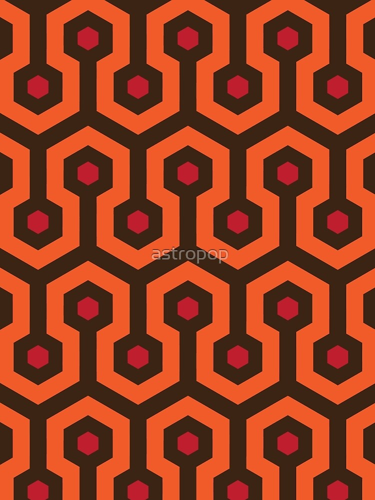 Overlook Hotel Carpet The Shining by astropop