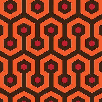Overlook Hotel Carpet The Shining de astropop