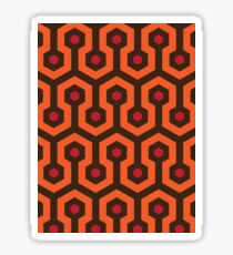 Overlook Hotel Carpet The Shining Sticker