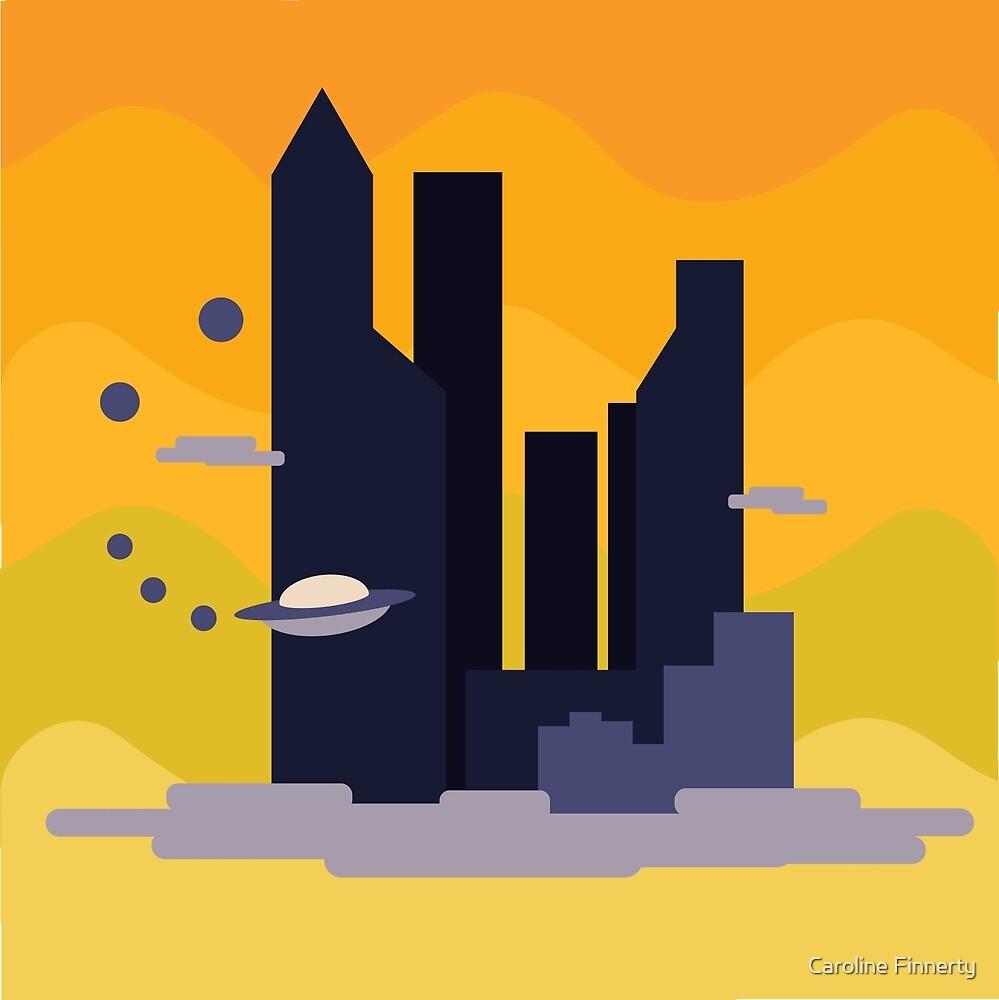 City in the Sky by Caroline Finnerty
