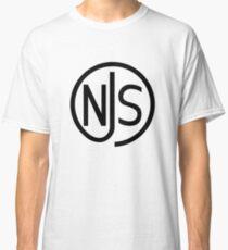 NJS stamp (black print) Classic T-Shirt