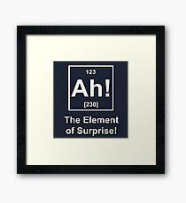 nerdy joke Framed Print