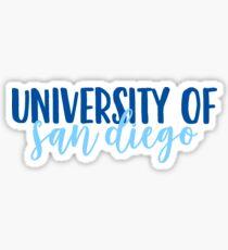 University of San Diego Sticker