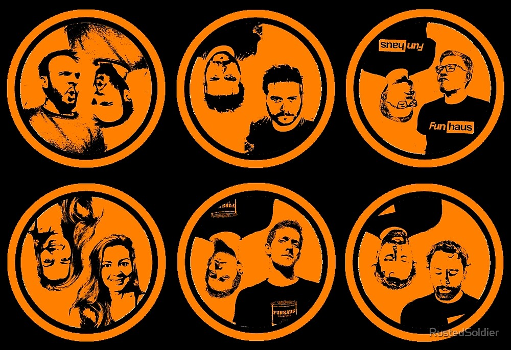 FunHaus Cast Logos by RustedSoldier