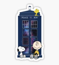 Doctor Who - Charlie Brown Sticker