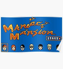 Maniac Mansion (NES) Poster