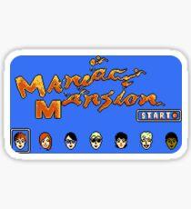 Maniac Mansion (NES) Sticker