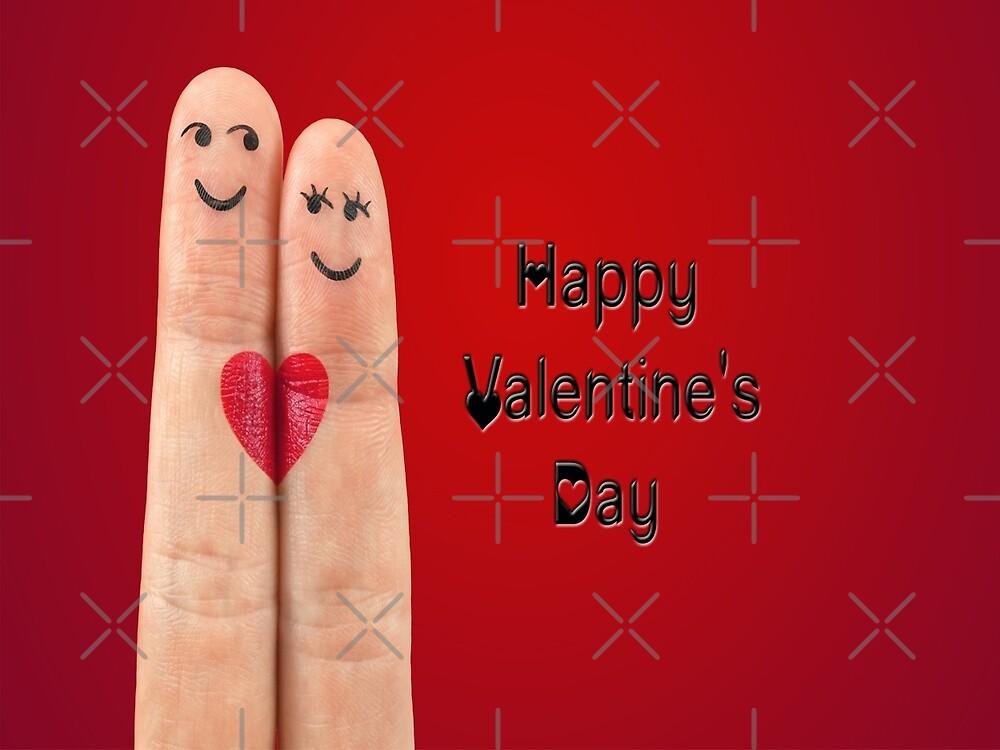 Happy Valentines Fingers by FrankieCat