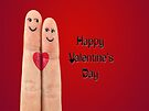Happy Valentines Fingers by FrankieCat