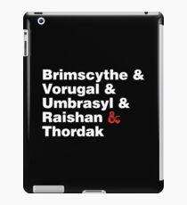 chroma conclave I (Critical Role) iPad Case/Skin