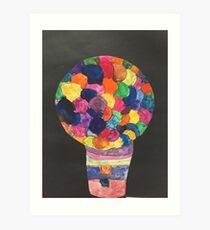 Gum-Ball Machine Art Print