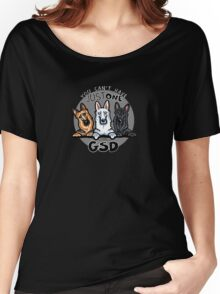 Can't Have Just One German Shepherd Dog Women's Relaxed Fit T-Shirt