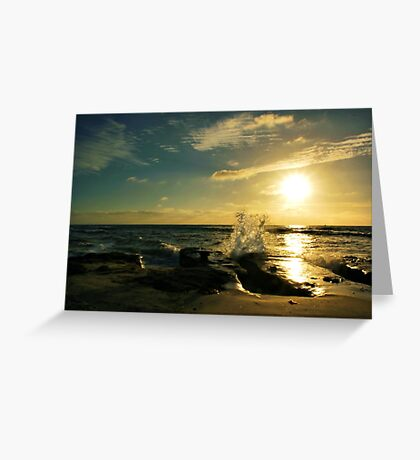 Salute to the Sun Greeting Card