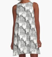 The Dakota Central Park West, New York City  A-Line Dress
