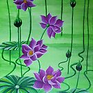 WATER LILIES by Tammera