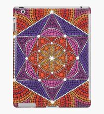 Feuerstern - Genesis-Muster iPad-Hülle & Klebefolie