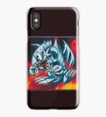 smal blue toon iPhone Case/Skin