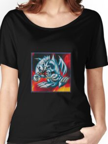 smal blue toon Women's Relaxed Fit T-Shirt