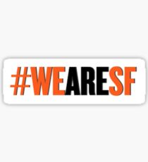 #WEARESF Giants Sticker Sticker