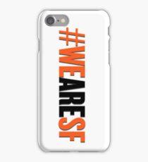 #WEARESF Giants Sticker iPhone Case/Skin
