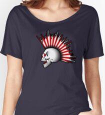 Kamikaze Skull! Women's Relaxed Fit T-Shirt