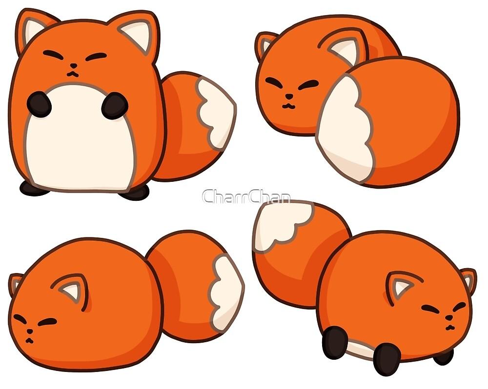 Foxes  by CharrChan