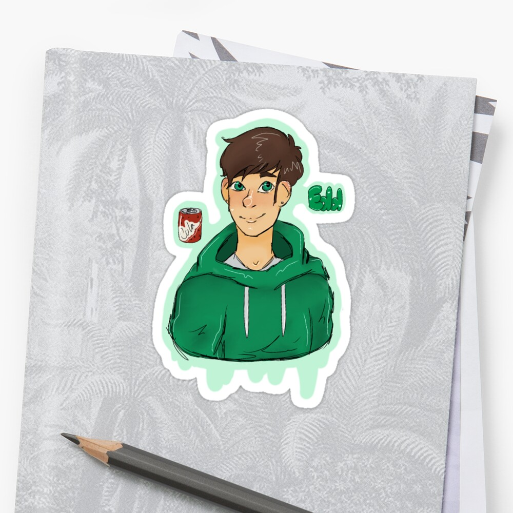 Eddsworld Edd Sticker by snazzyrow