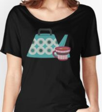 Mid-Century Modern Tea Time Women's Relaxed Fit T-Shirt