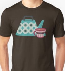 Mid-Century Modern Tea Time T-Shirt