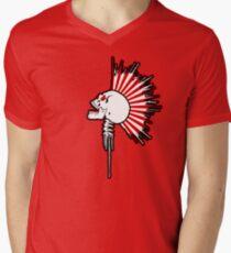 Kamikaze Mohawk! Mens V-Neck T-Shirt