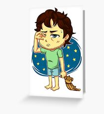 Sleepwalker Greeting Card