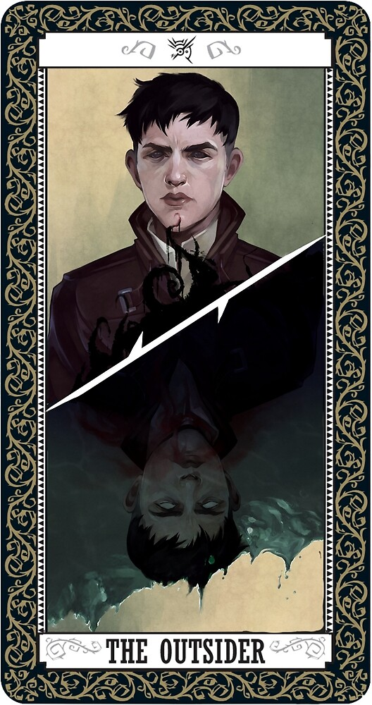 The Outsider Tarot Card by queerterror