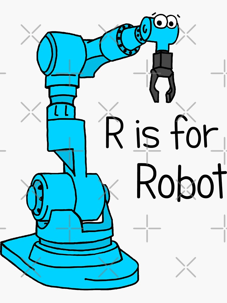 R is for Robot by AdrienneBody