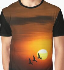 Flying home to roost Graphic T-Shirt