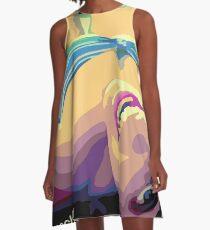 Beach girl - Chica en la playa Vestido acampanado
