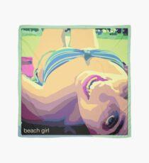 Beach girl - Chica en la playa Pañuelo